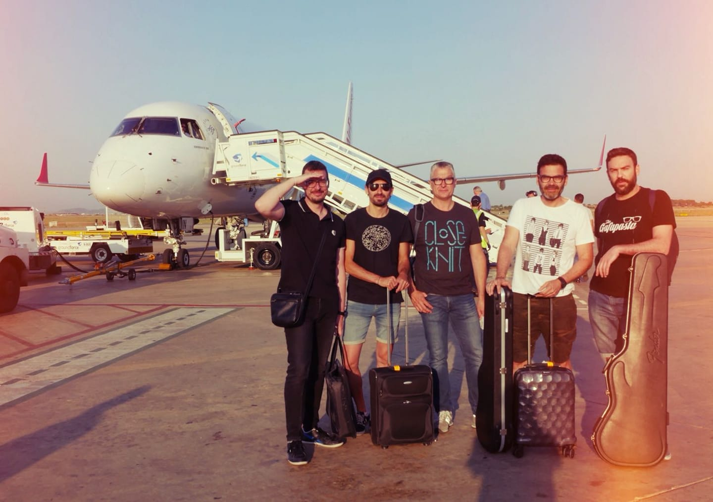 The Gafapasta rumbo a Mallorca con Soundline